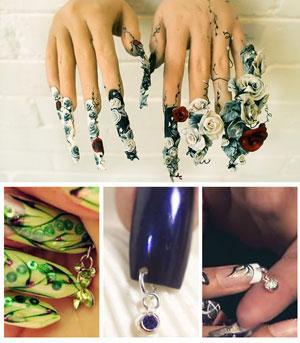 Ногтевой пирсинг Ещё раз о красоте ногтей