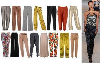Летние женские брюки и брюки осень зима 2014