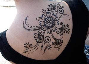 Что представляет собой временная татуировка